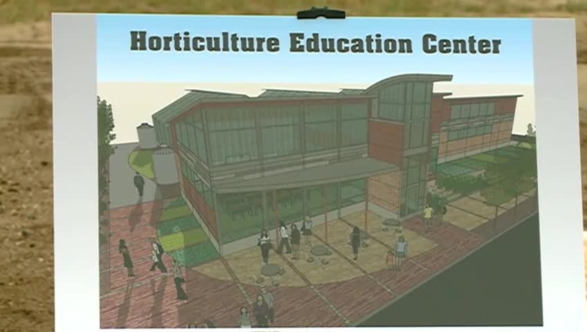 WTC breaks ground on Horticulture Education Center
