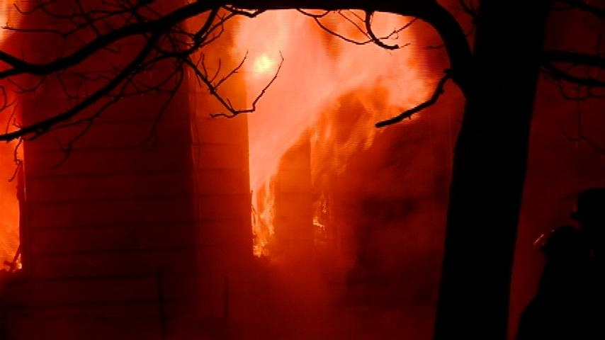 Family loses century-old home in fire