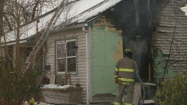 Elderly man saved from house fire by passers-by