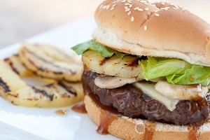 Hungry Hawaiian and Mexican Burger Recipes