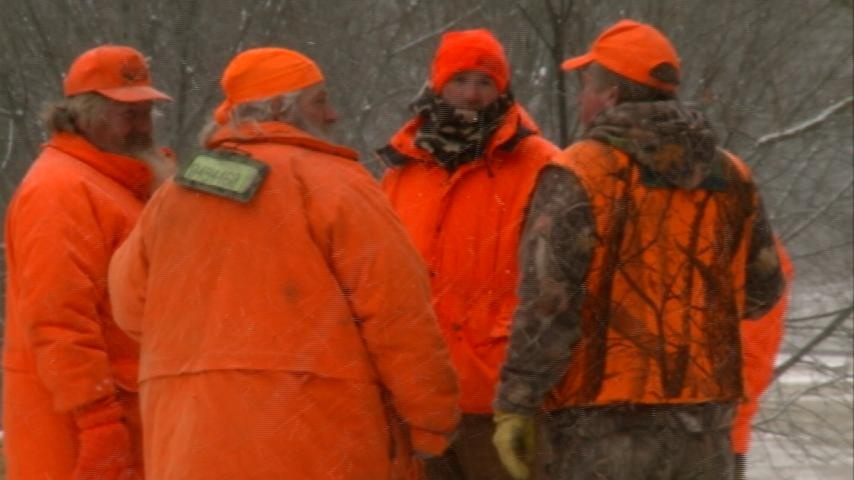 Disabled hunters take to the woods for special hunt