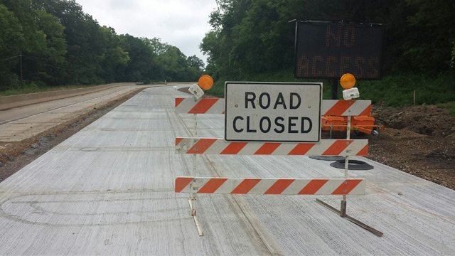 Town of Shelby police cite drivers for moving Hwy 33 Road Closed signs