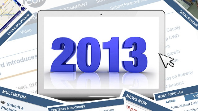 Top 10 clicked stories on News8000.com in 2013