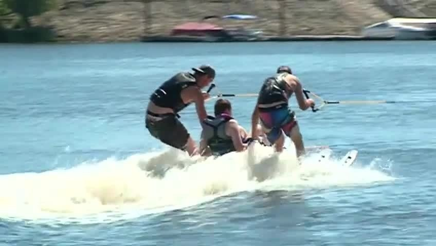 Water sports prove to be no obstacle for kids with disabilities