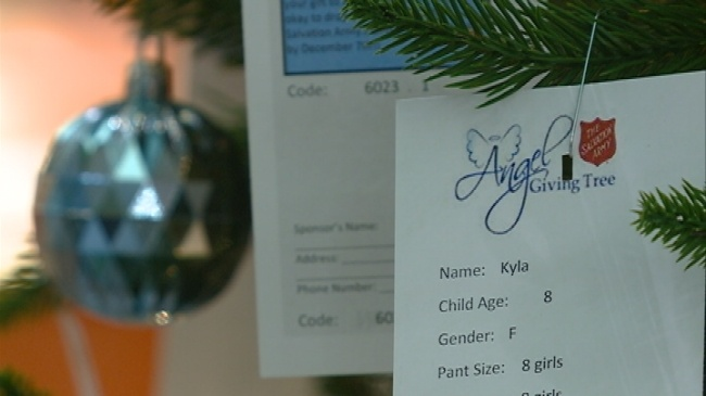 Salvation Army's Angel Giving Tree returns