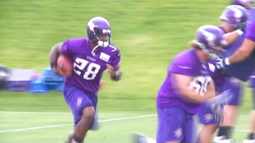 Adrian Peterson: 'I'm all natural. I work hard.'