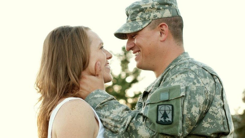 Army wife building a closer connection with husband during deployment