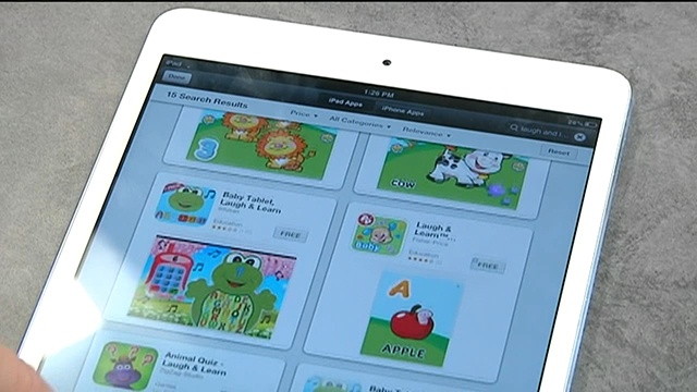 Group targets baby mobile apps