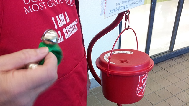 Salvation Army asks for bell ringers