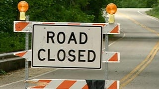 Bliss Road expected closure