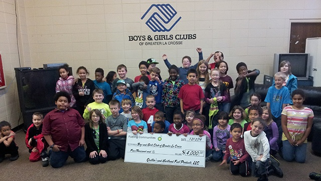 Boys & Girls Clubs of Greater La Crosse receives grant to help kids