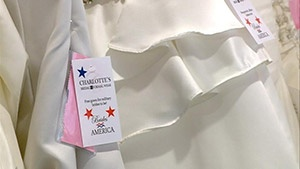 Local bridal shop taking part in Operation Wedding Gown