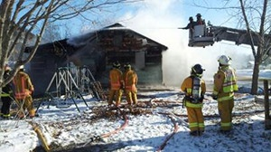 Brownsville family displaced after fire destroys house