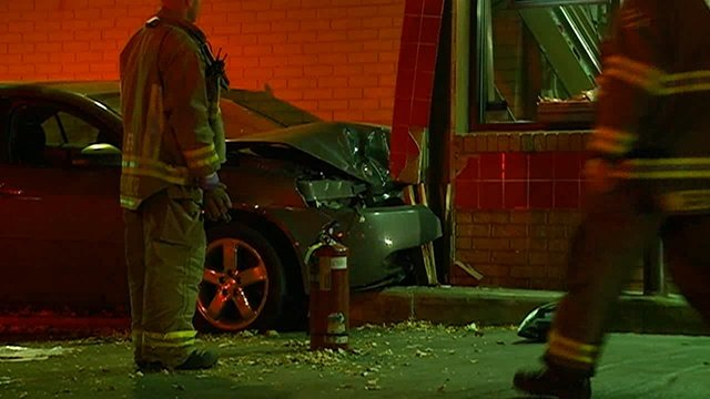 Woman faces drug charges after crashing car into La Crosse Burger King