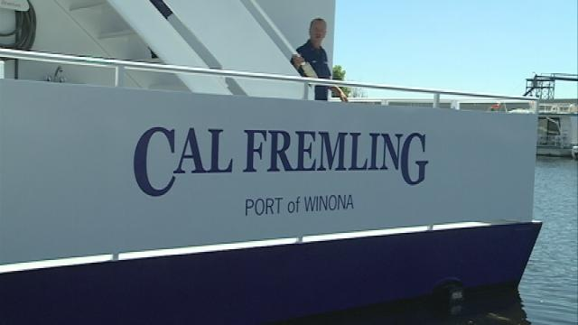 Winona State's floating classroom almost ready to set sail