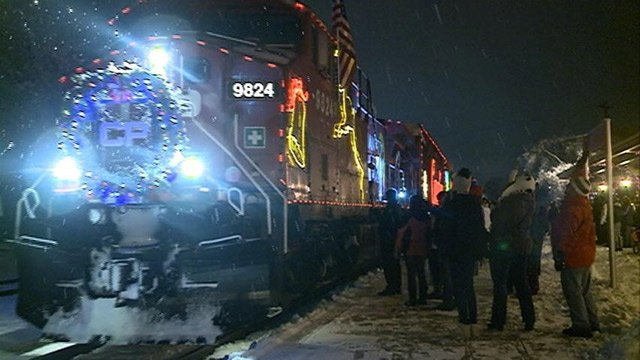 Canadian Pacific Holiday Train visits the area