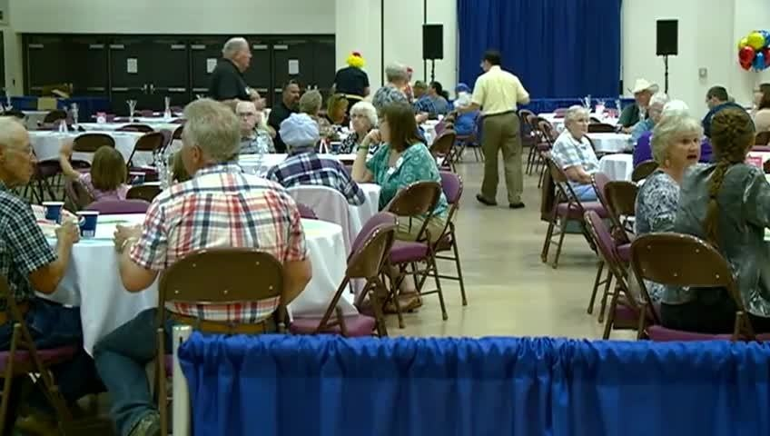 Local cancer survivors gather at the La Crosse Center to celebrate life