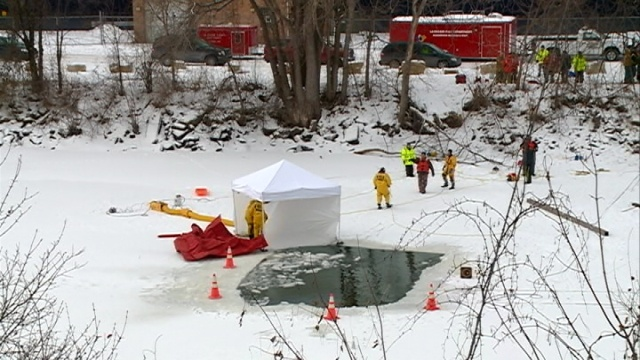 La Crosse firefighter details icy recovery on Mississippi River