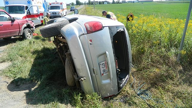 Thorp woman dies from Clark County crash