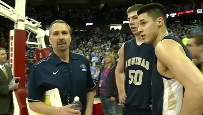Final Four special for Koenig's high school coach