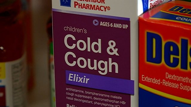 Report: Significant drop in child E.R. visits because of cold meds
