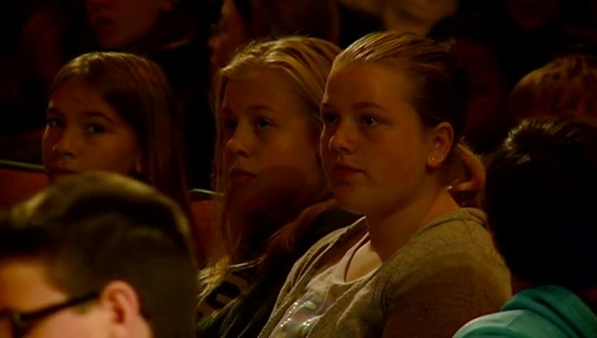 Lincoln Middle School holds compassion assembly