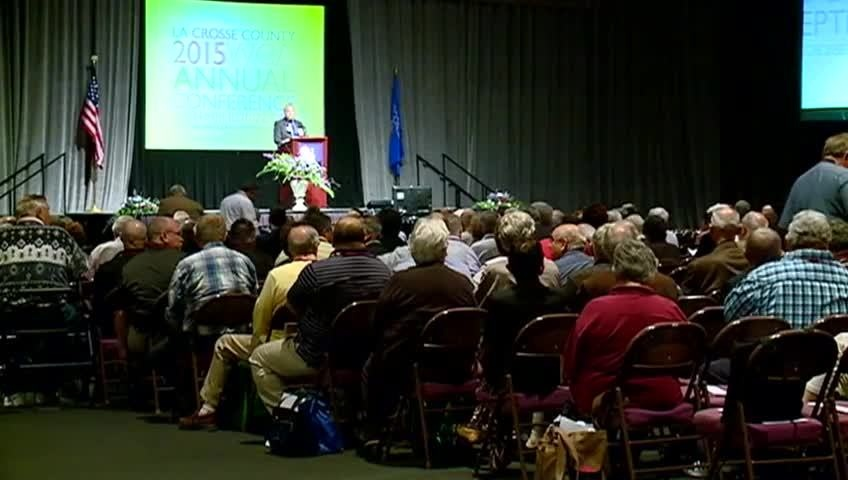 Wisconsin Counties Association Conference in La Crosse