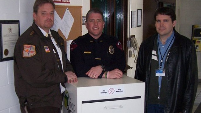 24-hour medication drop box now in Crawford County