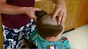 Holmen cub scouts shave heads for fellow scout battling leukemia