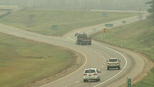 Walker downplays thoughts of gas tax, toll roads