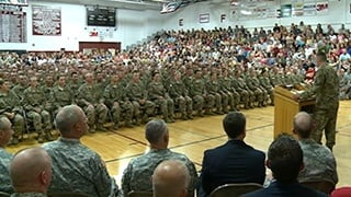 Prairie du Chien soldiers return to Volk Field Thursday