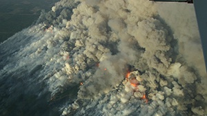 DNR: Wis. wildfire started in logging operations area