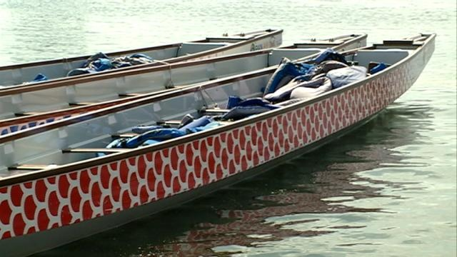 Paddlers for Big Blue Dragon Boat races get in final practice