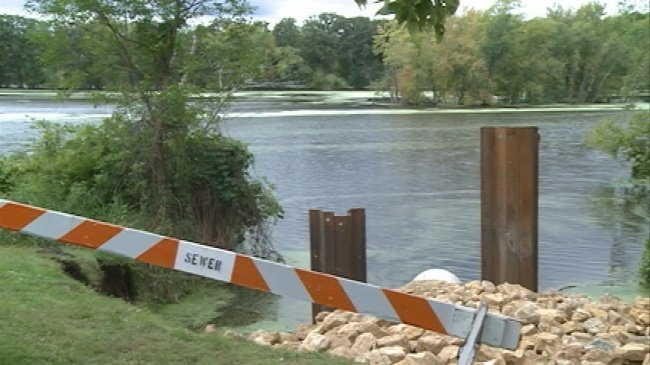 Emergency repairs made to eroded La Crosse stormwater pipe