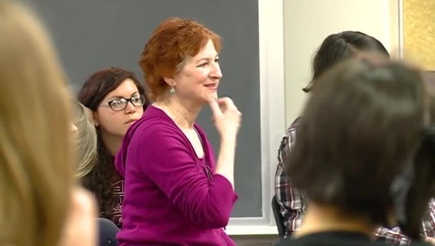 Emmy award-winning actress holds acting workshops for local students