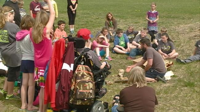 Holmen students learn more about environment