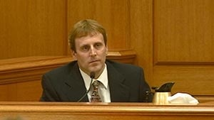 Eric Koula takes the stand in his own defense
