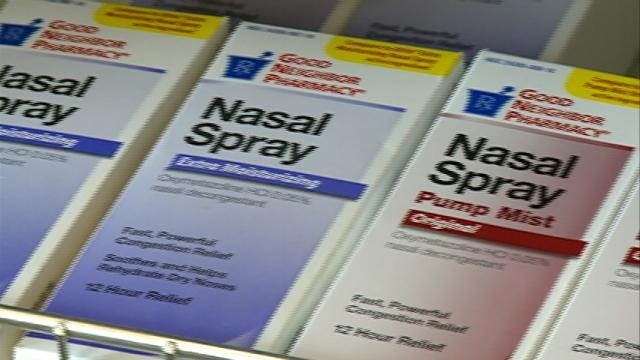 Experts warn of nasal spray addiction