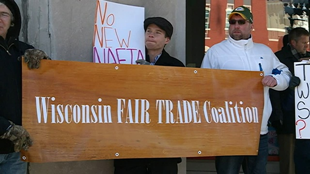 Unions, others challenging Rep. Kind on proposed trade agreement