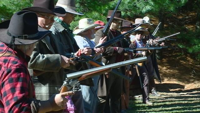 Wild West enthusiasts take part in Mississippi Fandango