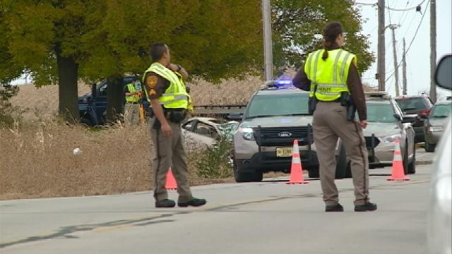 1 dead, 1 injured in rollover accident in West Salem