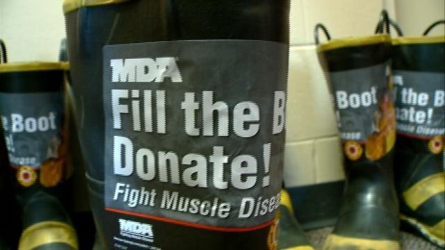 La Crosse firefighters need help to 'fill the boot'