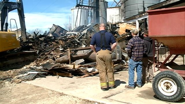 Owner says mutual aid agreement helped save building from fire