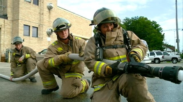 Fitness challenge: A day in the life of a firefighter