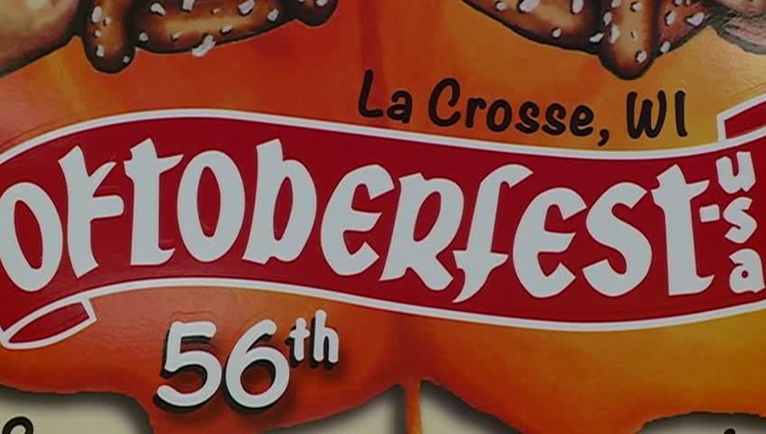 Oktoberfest button designed unveiled at Forks and Corks fundraiser