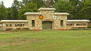 Fort McCoy gates being renovated