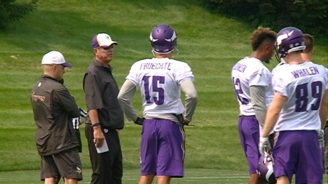 Stayin' Alive: Fruechte makes Vikings Practice Squad