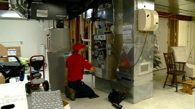 HVAC company recommends annual furnace inspection