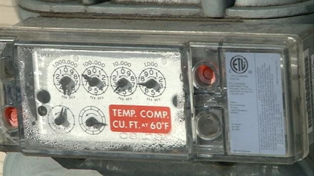 Gas meters must be clear this winter