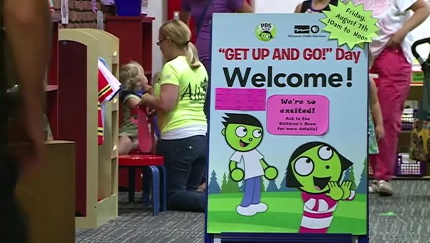 La Crosse library celebrates 'Get up and Go' day